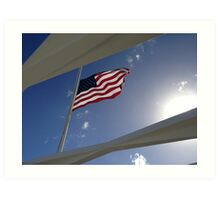 USS Arizona Memorial - Pearl Harbor Art Print
