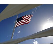 USS Arizona Memorial - Pearl Harbor Photographic Print