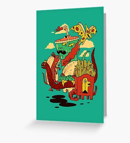 Yumderlizards Greeting Card