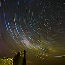Star trail Barras Homestead by Murray Wills