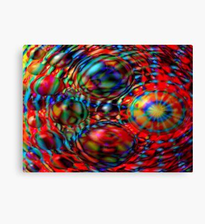 Egg Stream - digital art Canvas Print