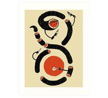 Sushi Snake Art Print