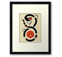Sushi Snake Framed Print