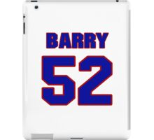National football player Barry Gardner jersey 52 iPad Case/Skin