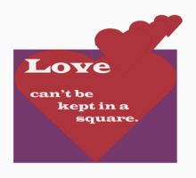 Love can't be kept in a square by Sharon Robertson