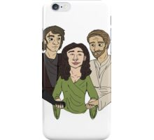Padme + Jedi boys iPhone Case/Skin