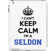 I cant keep calm Im a SELDON iPad Case/Skin