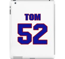 National football player Tom MacLeod jersey 52 iPad Case/Skin