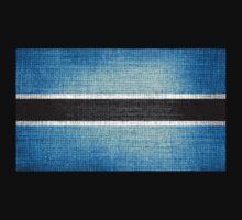 Botswana Flag by Nhan Ngo