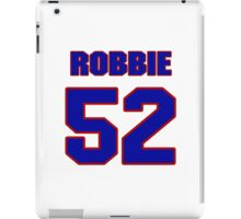 National football player Robbie Nichols jersey 52 iPad Case/Skin