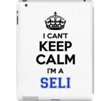 I cant keep calm Im a SELI iPad Case/Skin