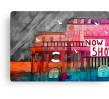 The End of the Pier Canvas Print