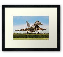 Eurofighter Typhoon FGR.4 ZK308/TP-V Framed Print