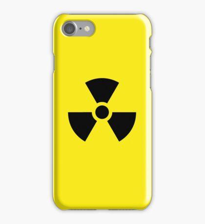 Danger Radioactive decay iPhone Case/Skin