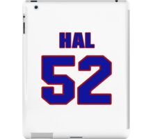 National football player Hal Shoener jersey 52 iPad Case/Skin