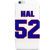 National football player Hal Shoener jersey 52 iPhone Case/Skin