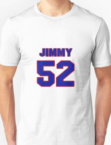 National football player Jimmy Sprotte jersey 52 T-Shirt