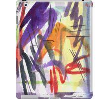 purple zigzag iPad Case/Skin