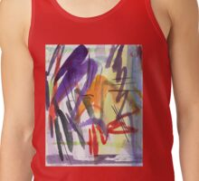 purple zigzag Tank Top
