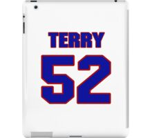 National football player Terry Tautolo jersey 52 iPad Case/Skin