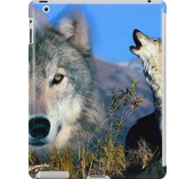Howling Wolves iPad Case/Skin
