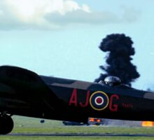 Lancaster PA474 under attack Sticker