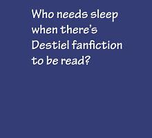 Who Needs to Sleep - Destiel Unisex T-Shirt
