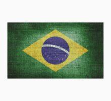 Brazil Flag One Piece - Long Sleeve