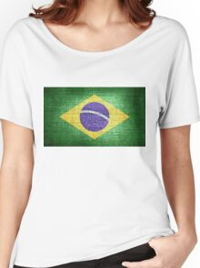 Brazil Flag Women's Relaxed Fit T-Shirt