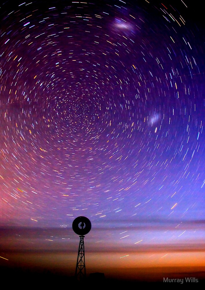 Star Trails South CP by Murray Wills