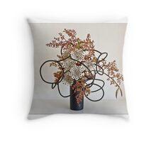 Ikebana-061 Greeting Card Throw Pillow