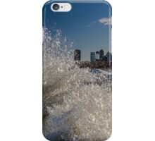 Winter Wave action in Chicago iPhone Case/Skin