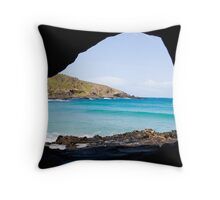 Natural Framing Throw Pillow