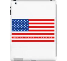 united states of america flag iPad Case/Skin