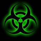 Toxic Biohazard sign by Haxyl