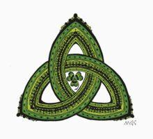 Celtic Clover Trinity Knot Triquetra Kids Clothes