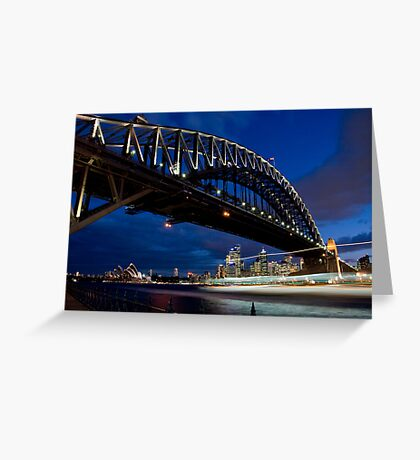 Harbour Traffic Greeting Card