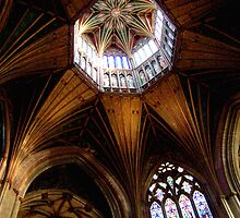 Ely Cathedral ceiling by bobcat