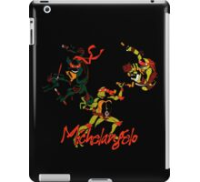 3 X Michelangelo iPad Case/Skin