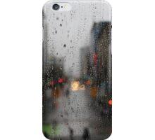 Rain drops in Vancouver iPhone Case/Skin