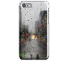 Rain drops in Vancouver iPhone Case/Skin