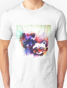 Rocky Raccoons Unisex T-Shirt