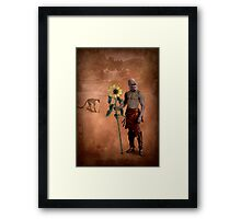 The man who loved flowers and apes Framed Print