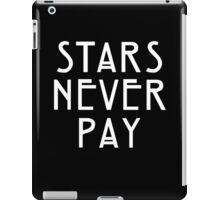 Elsa Mars Stars Never Pay iPad Case/Skin