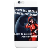 Disease Covers the Earth iPhone Case/Skin