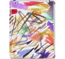 red splotch iPad Case/Skin
