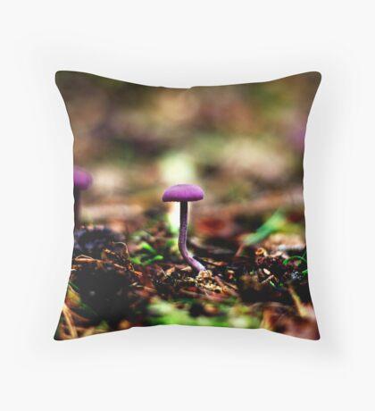 Mushroom 01 Throw Pillow