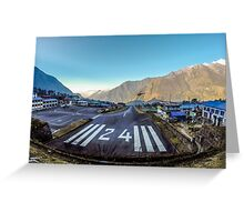Lukla Airport, Nepal Greeting Card