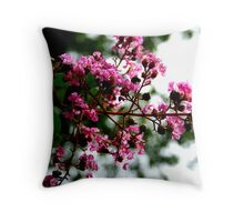 Pretty Blossoms Throw Pillow