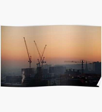 Sheffield: City of Cranes Poster